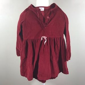 Hanna Andersson red velvet holiday top